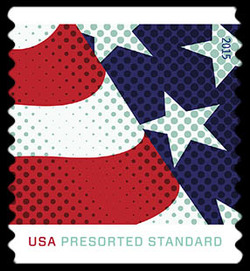 Stars and Stripes - First United States Postage Stamp | Stars and Stripes