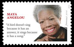 Maya Angelou United States Postage Stamp