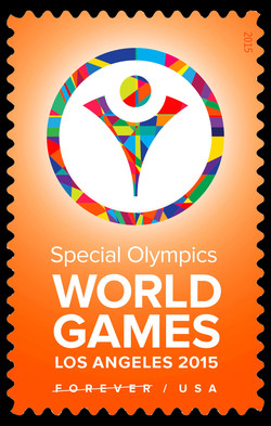 Special Olympics World Games - Los Angeles United States Postage Stamp