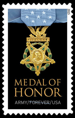Army Medal of Honor United States Postage Stamp | Medal of Honor: Vietnam War