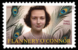 Flannery O'Connor United States Postage Stamp | Literary Arts