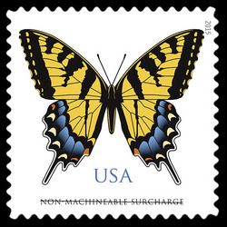 Eastern Tiger Swallowtail United States Postage Stamp
