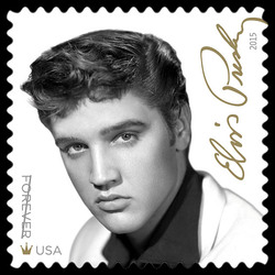 Elvis Presley United States Postage Stamp | Music Icon