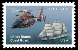 United States Coast Guard United States Postage Stamp