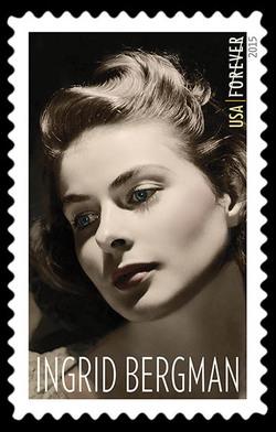 Ingrid Bergman United States Postage Stamp | Legends of Hollywood