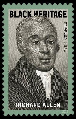 Richard Allen United States Postage Stamp | Black Heritage