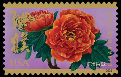 Year of the Monkey United States Postage Stamp | Celebrating Lunar New Year