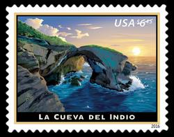 La Cueva Del Indio United States Postage Stamp