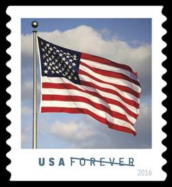 U.S. Flag United States Postage Stamp