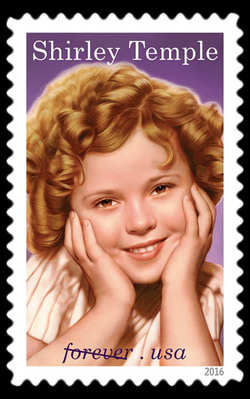 Shirley Temple United States Postage Stamp | Legends of Hollywood