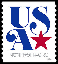 USA Nonprofit Org United States Postage Stamp