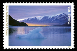 Glacier Bay National Park and Preserve - Alaska United States Postage Stamp | National Parks