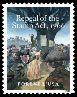 Repeal of the Stamp Act - 1766 United States Postage Stamp