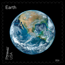 Earth United States Postage Stamp | Views of Our Planets