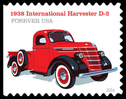 1938 International Harvester D-2 United States Postage Stamp | Pickup Trucks