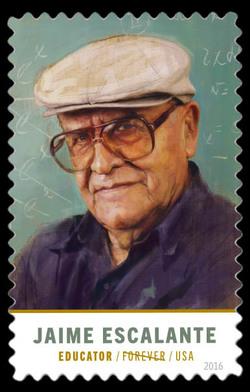 Jaime Escalante United States Postage Stamp