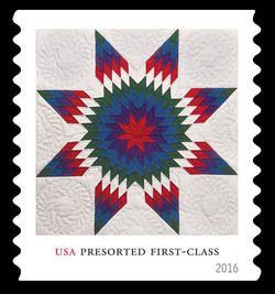 Lone Star Quilt United States Postage Stamp | Lone Star Quilts