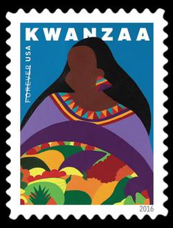 Kwanzaa United States Postage Stamp