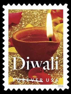 Diwali United States Postage Stamp
