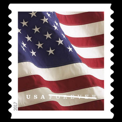 U.S. Flag United States Postage Stamp