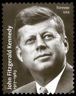 John Fitzgerald Kennedy - 1917-1963 United States Postage Stamp
