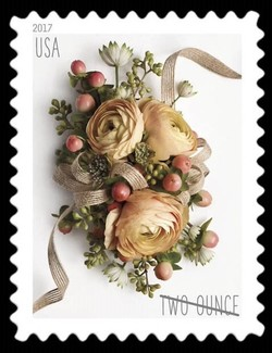 Celebration Corsage United States Postage Stamp