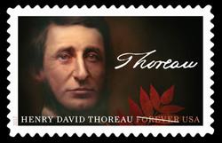 Henry David Thoreau United States Postage Stamp