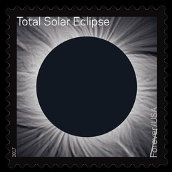 Total Eclipse of the Sun United States Postage Stamp