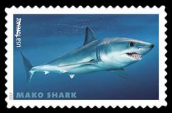 Mako Shark - Isurus Oxyrinchus United States Postage Stamp | Sharks