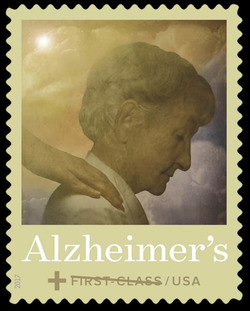 Alzheimer's United States Postage Stamp