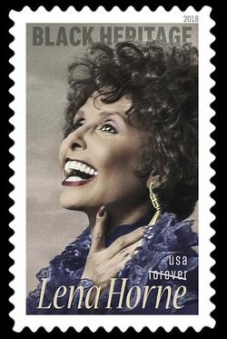 Lena Horne United States Postage Stamp | Black Heritage