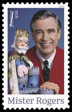 Mister Rogers United States Postage Stamp