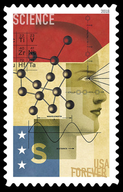 Science United States Postage Stamp | STEM Education