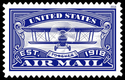 United States Air Mail United States Postage Stamp