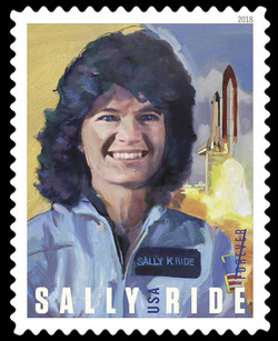 Sally Ride United States Postage Stamp