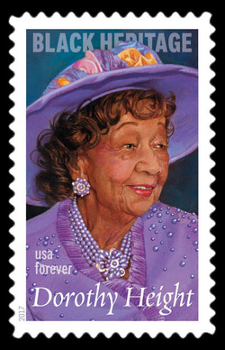 Dorothy Height United States Postage Stamp | Black Heritage