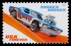 Rodger Dodger United States Postage Stamp | Hot Wheels