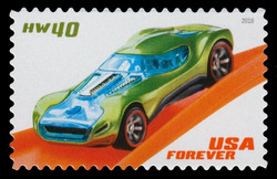 HW40 United States Postage Stamp | Hot Wheels