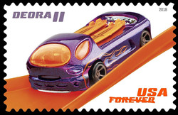 Deora II United States Postage Stamp | Hot Wheels
