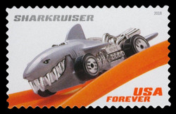 Sharkruiser United States Postage Stamp | Hot Wheels