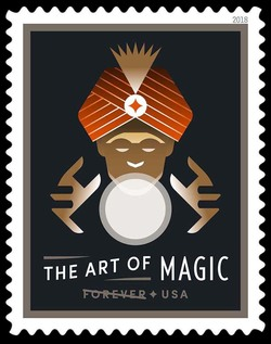 Fortune Teller - Prediction United States Postage Stamp | The Art of Magic