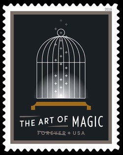 Empty Bird Cage - Vanishing United States Postage Stamp | The Art of Magic