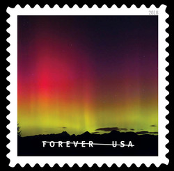 Three Fingers Mountain United States Postage Stamp | O Beautiful
