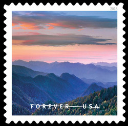 Great Smoky Mountains National Park United States Postage Stamp | O Beautiful