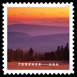 Crater Lake National Park United States Postage Stamp | O Beautiful