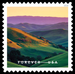 Livermore California United States Postage Stamp   O Beautiful