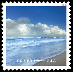Canaveral National Seashore United States Postage Stamp   O Beautiful