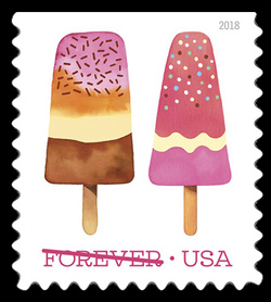 Frozen Treats United States Postage Stamp | Frozen Treats