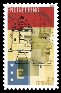 Engineering United States Postage Stamp | STEM Education