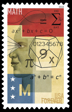 Math United States Postage Stamp | STEM Education